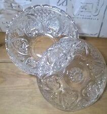 Decorative Glass Jar Vintage Filigree Design. Trinket bedroom bathroom wedding