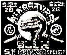 Dinosaurs - Sf Ninja Society 1984 - By Alton Kelley - Original Handbill Rare