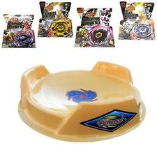 Ultimate Yellow Pegasus Beystadium Set 4 Beyblades w/ Launchers + Yellow Stadium