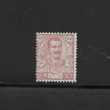 REGNO 1901 floreale 10 cent nuovo sg