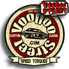HOT ROD STICKER BY VOODOO STREET™, rat look, panel van, T4, camper, V8 customcar