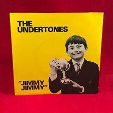 "THE UNDERTONES Jimmy Jimmy 1979  UK 7"" vinyl single EXCELLENT CONDITION #"