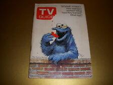 Vintage TV GUIDE, July 10, 1971, SESAME STREET, COOKIE MONSTER Cover, MEL TORME!