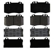 Disc Brake Pad Set-Semi Metallic Disc Brake Pad Front ACDelco Pro Brakes 17D847M