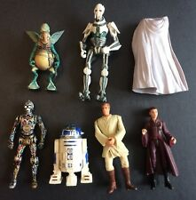 Star Wars Prequil Figure Lot (Loose, Good Condition)