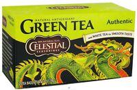 Celestial Seasonings Authentic Green Tea 20 ea (Pack of 2)