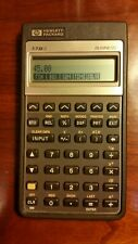 Vintage Hewlett Packard 178 Ii Business Calculator w/ Case