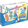 Aquarellum Junior Flower Princess Watercolour Painting - Kids Art Kits