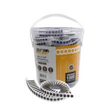DuraDrive #6 x 1-1/4 in. Phillips Fine-Thread Drywall Screws  (1,000-Pack)