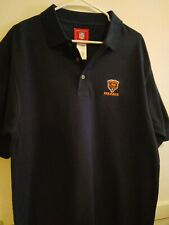 New listing NFL Chicago Bear Pull Over Polo Golf Shirt Men's Size Large