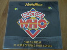 Doctor Who '96 CALENDAR (Radio Times) SIGNED by COLIN BAKER / LTD EDITION New