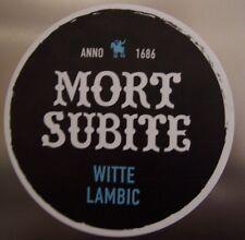 magnet frigo aimant bière MORT SUBITE WITTE LAMBIC