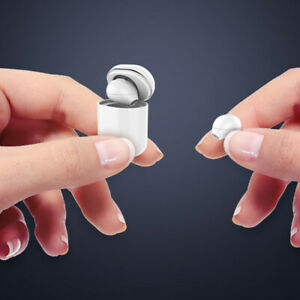 Mini Invisible Twin-ear Bluetooth Earphone with Mic Half in ear micro earbuds