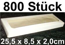 800x Caja Transparente embalaje de ENVÍO cartón Presentación