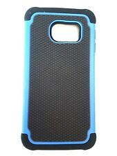 SamsungGalaxy S6 Edge case cover Shock Proof Dual Layer Silicone & Hard Defender