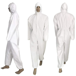 Disposable Automotive Painter Full Body Suit Protective Coveralls Painting Spray