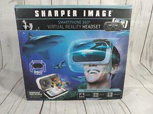SHARPER IMAGE Smartphone 360 Virtual Reality Headset