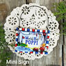 Poppi * Mini Sign Wood Ornament Family DecoWords Year Round Decor USA New in Pkg