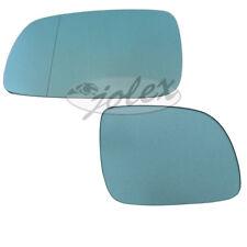 Spiegelglas rechts+links heizbar blau Außenspiegel Audi A3 8L1 A4 B5 A6 4A NEU