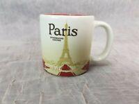 Starbucks Paris City Mug 3 oz. Espresso Demitasse Coffee Collector Series 2013