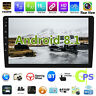 "10.1"" Android 8.1 Car Stereo GPS Navi MP5 Player 2Din WiFi BT Quad Core FM Radio"