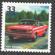 US. 3188h. 33c. Ford Mustang. Celebrate The Century. MNH. 1999