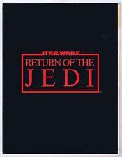Star Wars ROTJ Program 1983 Signed Concern II Benefit Screening Quad Foldout