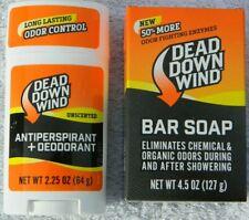 Dead Down Wind Bar Soap & Antiperspirant + Deodorant - Free Shipping