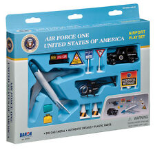 Daron Air Force One Airport Play Set Die Cast Metal 12 Pieces Brand New