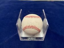 Greg Maddux 4X CY Young Award Inscribed and Signed Baseball Steiner and MLB Auth