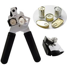 Heavy Duty Stainless Steel Professional Tin Can Opener Kitchen Craft Easy Grip