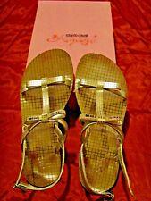 Scarpe sandali bambina ROBERTO CAVALLI ANGELS. Numero 33, ma calzano per 34