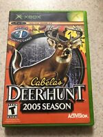 Cabela's Deer Hunt: 2005 Season (Microsoft Xbox, 2004) Complete In Box! CIB