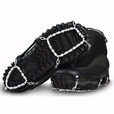 ICE TREKKERS DIAMOND GRIP FOOT TRACTION SNOW BOOT CHAINS TRACTION CLEATS SMALL