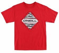 O'Neill ESCAPE Mens Short Sleeve 100% Cotton T-Shirt Medium Chili Pepper NEW