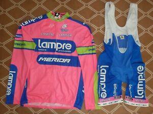 Lampre Cycling Team 2000's, XXL Santini,M Champ-sys jersey Bib Shorts