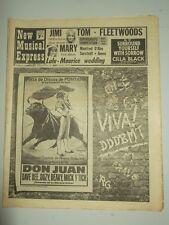 NME #1154 FEBRUARY 22 1969 JIMI HENDRIX CILLA BLACK TOM JONES FLEETWOODS LULU