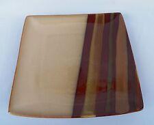 3 SANGO AVANTI BROWN SQUARE DINNER PLATES & Avanti Brown Dinner Plate Sango China u0026 Dinnerware | eBay