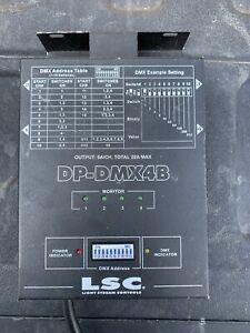 DP-DMX4B 4 Channel Dimmer