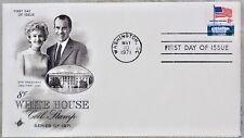 US Scott # 1338 F. 8¢. White House  Art - Craft FDC. 1971