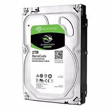 """Seagate Barracuda 2TB 3.5"""" Internal Desktop Hard Drive 7200rpm 64MB SATA 6GB"""