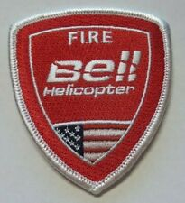 "OLD TEXAS BELL HELICOPTER FIRE DEPT 3"" PATCH UNUSED"