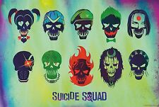 Suicide Squad Film Posters  Option 4 - A3 & A4