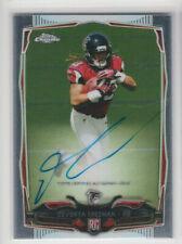Devonta Freeman 2014 Topps Chrome Rookie Autograph Parallel #216 Falcons RB Auto