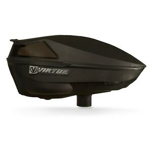 Virtue Spire IV Electronic Paintball Loader / Hopper - Black