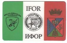 Italie - Carte Italfor - Army to Bosnia L 20.000 - Mint/Neuve
