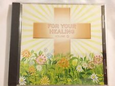 Brand New CD ~ For Your Healing ~ J.D.Stokes, RN ~ Scriptures To Heal & Meditate