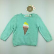6993fc12167 Girls Size 00 Country Road Cotton Knit Sweater   Jumper Ice Cream