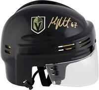 Max Pacioretty Vegas Golden Knights Autographed Black Mini Helmet