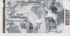 Sammler Used Ticket / Entrada KRC Genk v Real Madrid 12-11-2002 UEFA CL